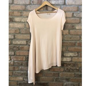 Bordeaux Jersey Swing Tunic (Peach)